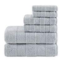 Madison Park Signature Parker 6-Piece Bath Towel Set in Grey