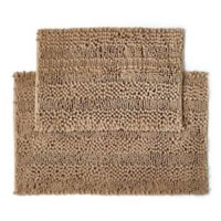 2-Piece Aldante Bath Rug Set in Chocolate