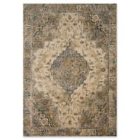 Magnolia Home by Joanna Gaines Evie 5'1 Round Area Rug in Sand/Sage