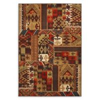 Mohawk Home Louis and Clark Bark 9'6 x 12'11 Area Rug in Brown