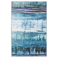 Mohawk Home Mixed Media 5' x 8' Area Rug in Navy