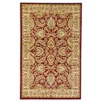 Unique Loom Agra 5'1 x 8' Area Rug in Red