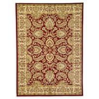 Unique Loom Agra 7'1 x 10' Area Rug in Red