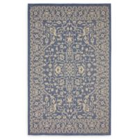Allover 5' x 8' Indoor/Outdoor Area Rug in Blue