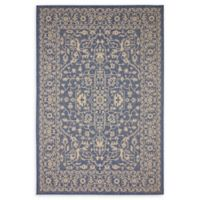 Allover 6' x 9' Indoor/Outdoor Area Rug in Blue