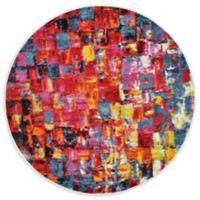 Athena Lyon Multicolor 6' Round Area Rug