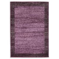 Del Mar 2' x 3' Accent Rug in Violet
