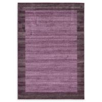 Del Mar 6' x 9' Area Rug in Violet