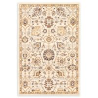 Unique Loom Heritage Lily 4' x 6' Area Rug in Ivory