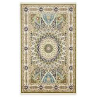 Unique Loom Nain 5' x 8' Power-Loomed Area Rug in Green