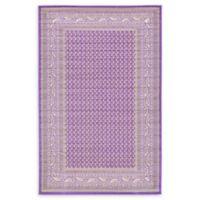 Tribeca Allover 5' x 8' Area Rug in Violet