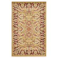 Unique Loom Asheville 3' x 5' Power-Loomed Area Rug in Tan