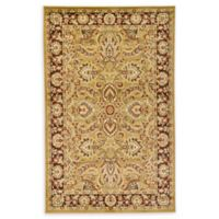 Unique Loom Asheville 5' x 8' Power-Loomed Area Rug in Tan