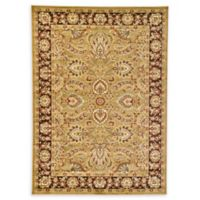 Unique Loom Asheville 7' x 10' Power-Loomed Area Rug in Tan