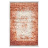 Unique Loom Arcadia 4' x 6' Power-Loomed Area Rug in Terracotta