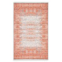 Unique Loom Arcadia 5' x 8' Power-Loomed Area Rug in Terracotta