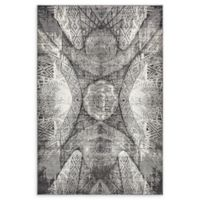 Unique Loom Sofia 5' x 8' Power-Loomed Area Rug in Dark Grey