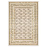 Unique Loom Tribeca 4' x 6' Power-Loomed Area Rug in Beige