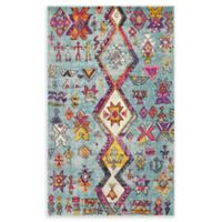 Unique Loom Sedona 5' x 8' Power-Loomed Area Rug in Turquoise