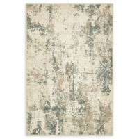 Unique Loom Sahara 4' x 6' Power-Loomed Area Rug in Beige