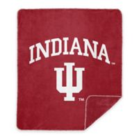 Indiana University Denali Sliver Knit Throw Blanket