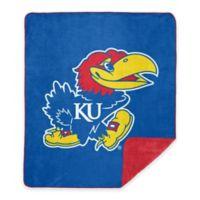 University of Kansas Denali Sliver Knit Throw Blanket