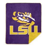 Louisiana State University Denali Sliver Knit Throw Blanket