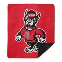 North Carolina State University Denali Sliver Knit Throw Blanket