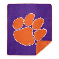 Clemson University Denali Sliver Knit Throw Blanket