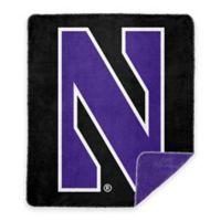 Northwestern University Denali Sliver Knit Throw Blanket