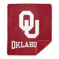 University of Oklahoma Denali Sliver Knit Throw Blanket