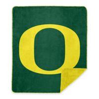 University of Oregon Denali Sliver Knit Throw Blanket