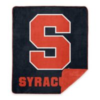 Syracuse University Denali Sliver Knit Throw Blanket