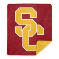 University of Southern California Denali Sliver Knit Throw Blanket