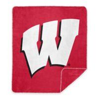 University of Wisconsin Denali Sliver Knit Throw Blanket