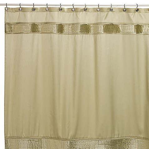 Nicole Miller® Willow 72 Inch X 72 Inch Fabric Shower Curtain In Sage