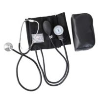 HealthSmart Complete Home Blood Pressure Kit in Black