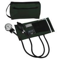 Mabis Match Mates Aneroid Sphygmomanometer in Hunter Green