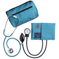 MABIS MatchMates® Sphygmomanometer and Dual Head Stethoscope Combo Kit in Teal