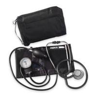 MatchMates Aneroid Sphygmomanometer Combination Kit in Black