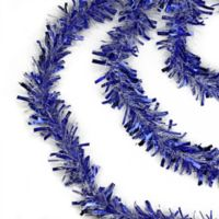 Northlight Garland 3-Pack 50-Foot Tinsel Strand Set in Blue/White