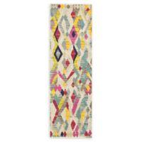 Unique Loom Sedona 2'2 x 6'7 Power-Loomed Multicolor Runner