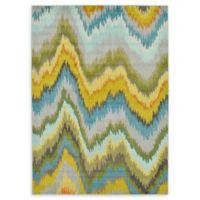 Unique Loom Barcelona 7' x 10' Power-Loomed Multicolor Area Rug