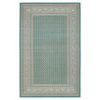 Unique Loom Tribeca 5' x 8' Power-Loomed Area Rug in Teal