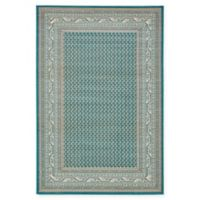 Unique Loom Tribeca 6' x 9' Power-Loomed Area Rug in Teal