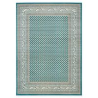 Unique Loom Tribeca 7' x 10' Power-Loomed Area Rug in Teal