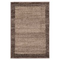 Unique Loom Del Mar 2' x 3' Power-Loomed Accent Rug in Light Brown