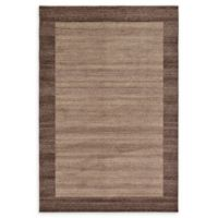 Unique Loom Del Mar 6' x 9' Power-Loomed Area Rug in Light Brown