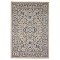 Unique Loom Traditional 6' x 9' Indoor/Outdoor Area Rug in Beige