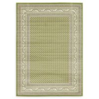 Unique Loom Allover Tribeca 7' x 10' Area Rug in Green